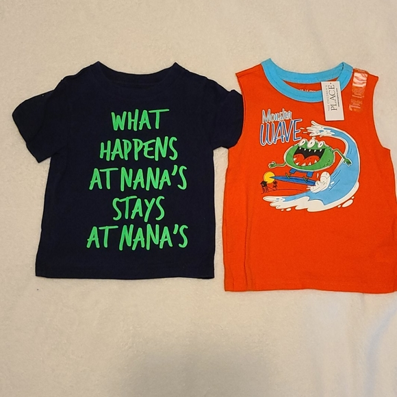 The Children's Place shirts size 18-24 months